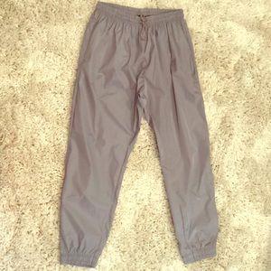 Grey Drawstring Waist Trouser